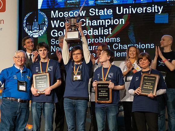 Россия опять первая на чемпионате мира по программированию