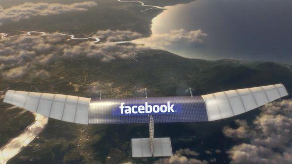 Facebook закрывает проект по раздаче Интернета с беспилотников