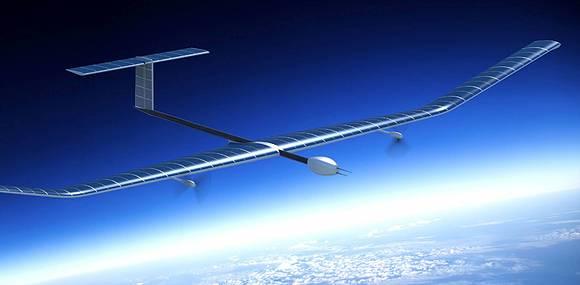 Беспилотник на солнечных батареях продержался в воздухе почти 26 суток