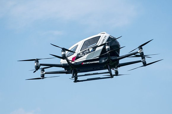 Австрия планирует коммерческий запуск воздушных беспилотных такси
