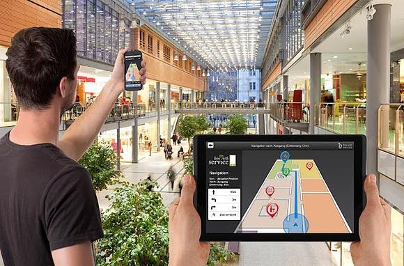 Apple обеспечит навигацию в помещениях для iPhone по содержанию озона