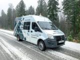 «Газпром нефть» запустила беспилотный электромобиль для доставки грузов на месторождении в ХМАО-Югре