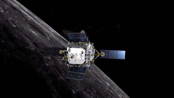 """Китайский космический аппарат """"Чанъэ-5"""" впервые за историю страны высадился на поверхность Луны"""