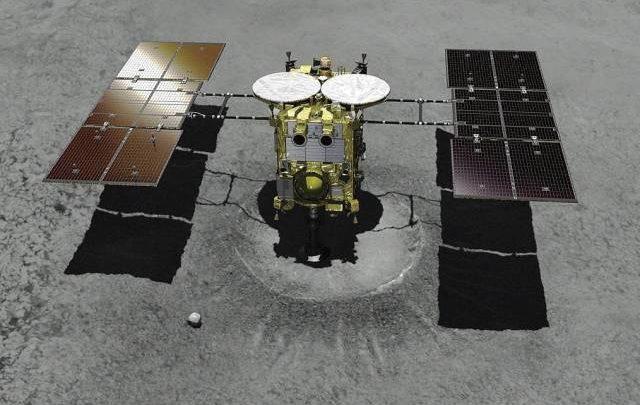 Японский зонд «Хаябуса-2» сбросит на Землю капсулу с образцами грунта с астероида Рюгу
