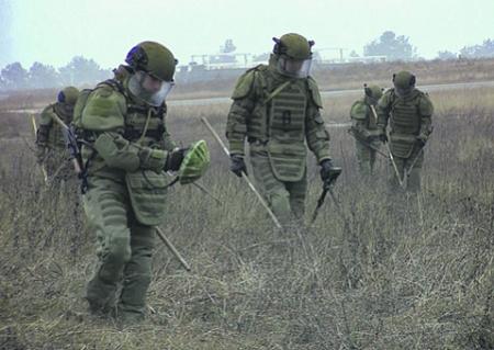Миротворцы из России нашли в Карабахе около 25 тысяч боеприпасов