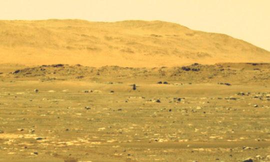 NASA совершило первый механизированный управляемый полет в атмосфере другой планеты