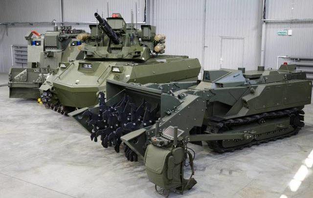 В инженерных войсках продолжаются работы по созданию РТК тяжелого класса