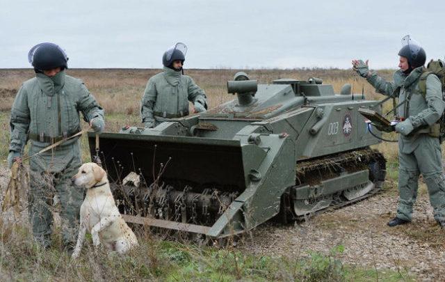 Военные запустили роботов в городскую среду