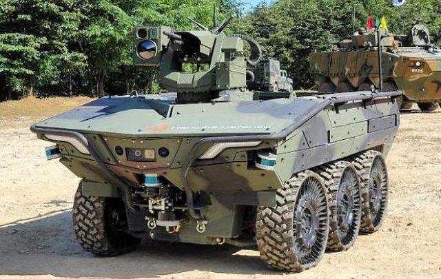 Южнокорейская армия приступила к испытаниям разведывательного робота