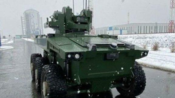 Рогозин показал работу робота «Маркер» на Восточном